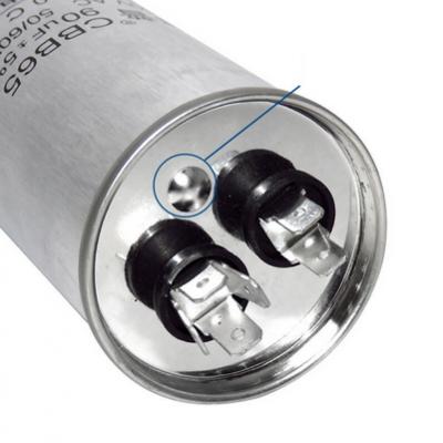 Heat Pump Compressor Start Capacitor 80UF 450V