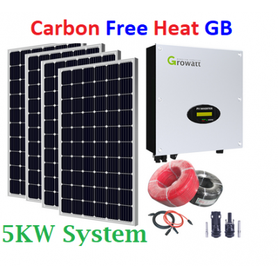 Off Grid House Solar + Wind package 5KW