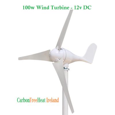 100w Wind Turbine - 12V DC